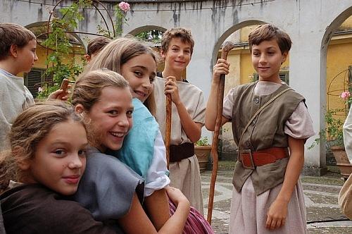 le recite in costume nella scuola steineriana il giardino dei cedri